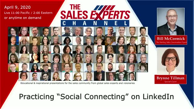 "Practicing ""Social Connecting"" on LinkedIn"