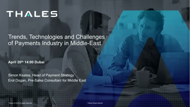 Trends, Technologies and Challenges of Payments Industry in the Middle East