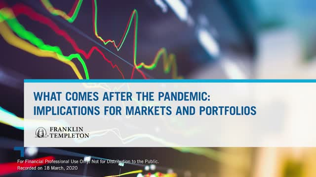 Global Markets: What comes after the pandemic?