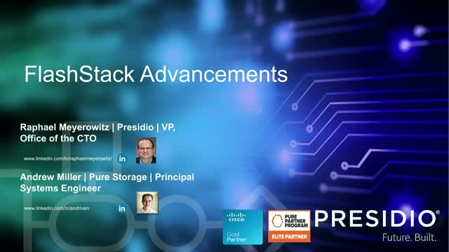 Cutting Edge converged infrastructure with FlashStack