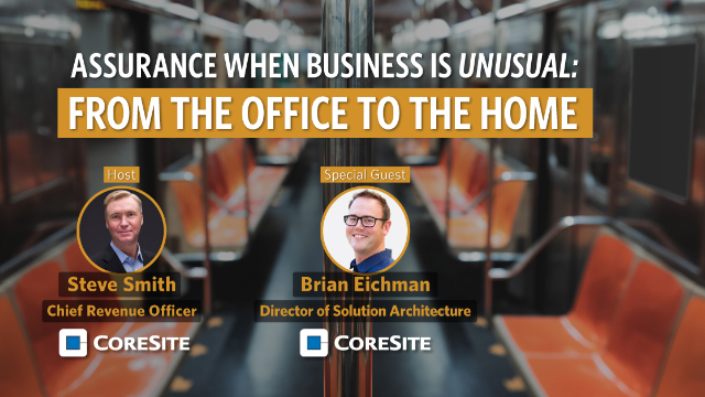 S1:E1 Assurance when Business is Unusual: From the Office to the Home