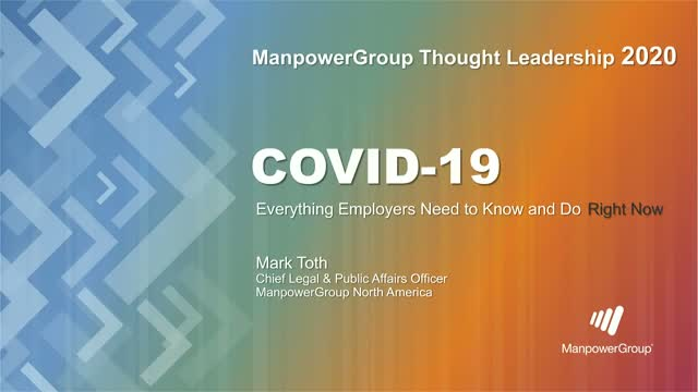 COVID-19: Everything Employers Need to Know and Do Right Now