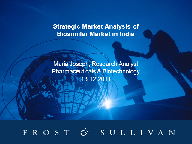 Strategic Market Analysis of Indian Biosimilar Market