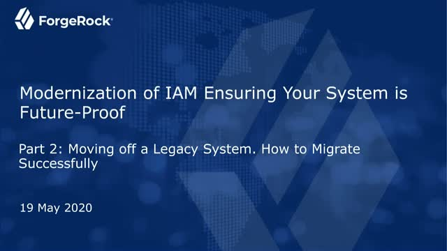 Part 2 - Moving off a Legacy System: How to Migrate Successfully