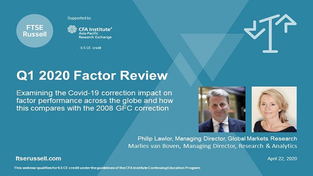 Q1, 2020 Factor Performance Review and Insight.