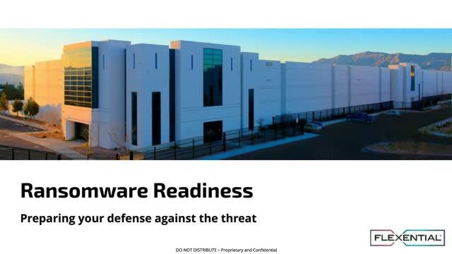 Ransomware Readiness: Prepare your defense against the threat