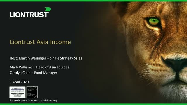 Liontrust Views - Asia: first in, first out?