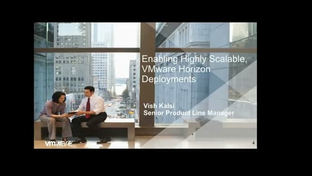 VMware Horizon View 7 - High Availability Architecture