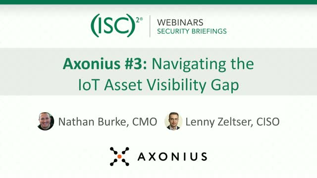 Axonius #3: Navigating the Coming IoT Asset Visibility Gap