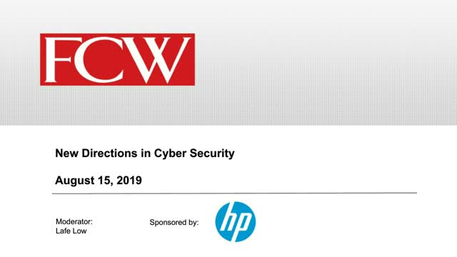 New Directions in Cyber Security