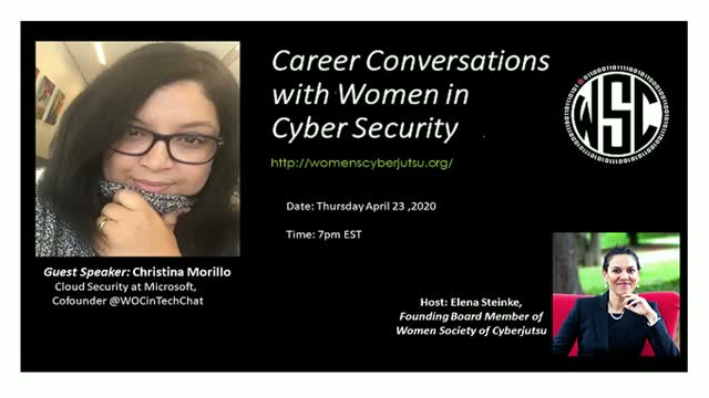 Career Conversation with Christina Morillo
