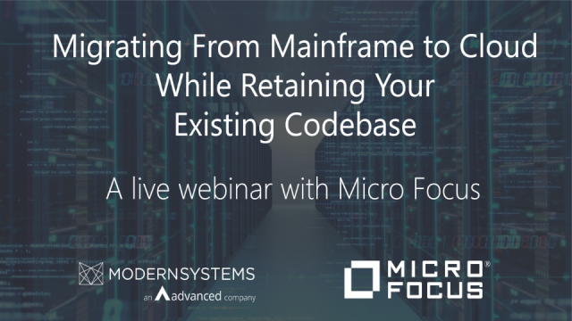 Rehosting Mainframe Applications