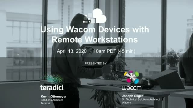 Using Wacom Devices with Remote Workstations