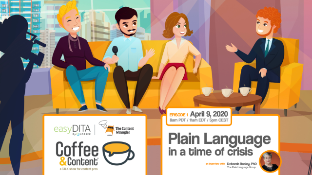 Coffee and Content: Plain Language in a Time of Crisis
