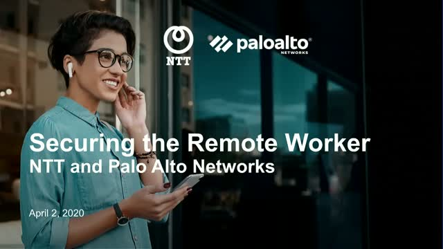 Securing the Remote Worker