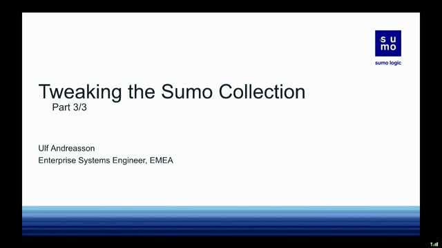 Tweaking the Sumo Collection Part 3
