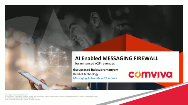 Deploying Artificial Intelligence-Enabled Messaging Firewalls for Enhanced A2P R