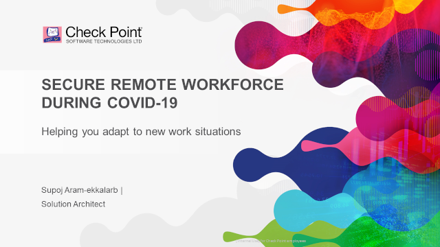 *Thai* Secure Remote Workforce During COVID-19