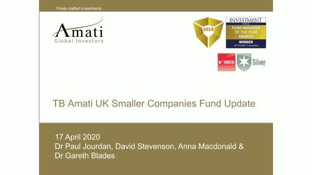 TB Amati UK Smaller Companies Fund Portfolio Update