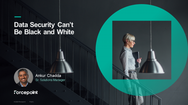 Data Security Can't Be Black or White