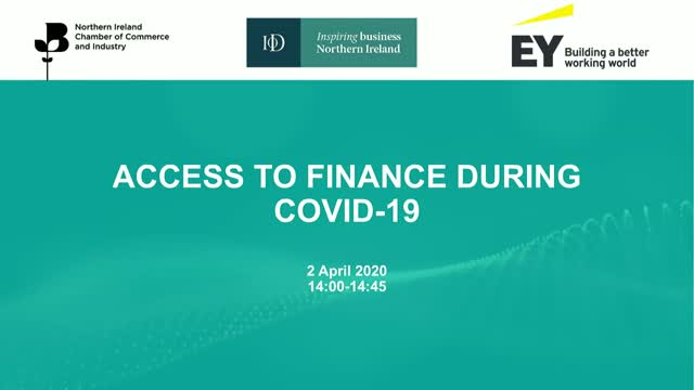 Access to Finance During COVID-19