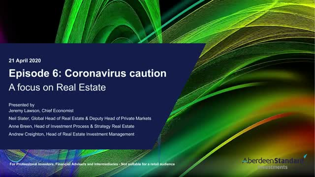 No.6 Coronavirus caution: A focus on Real Estate