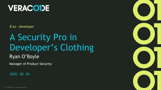 A Security Pro in Developers Clothing