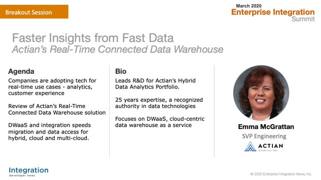 Fast Data for Faster Insights