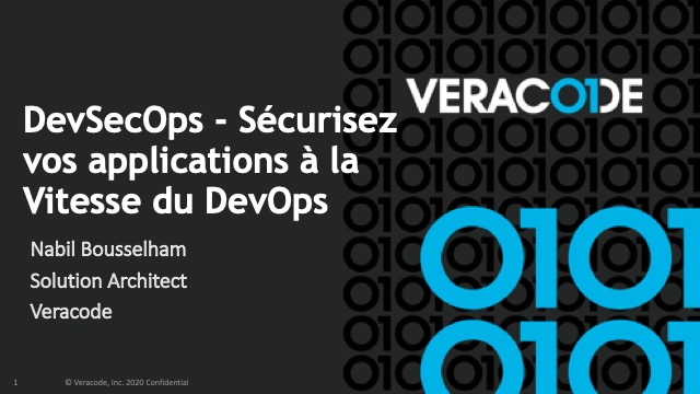 DevSecOps - Sécurisez vos applications à la vitesse du DevOps