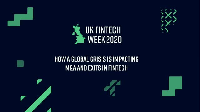 How a Global Crisis is Impacting M&A and Exits in FinTech
