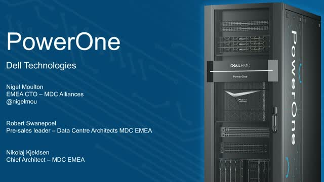 PowerOne: New Autonomous Infrastructure Drives VMware Data Centers Faster