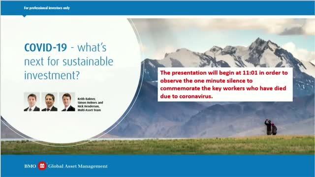 COVID-19 - what's next for sustainable investment?