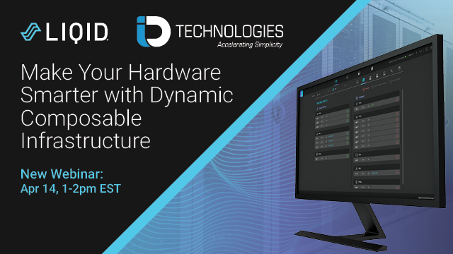 Make your Hardware Smarter with Dynamic Composable Infrastructure