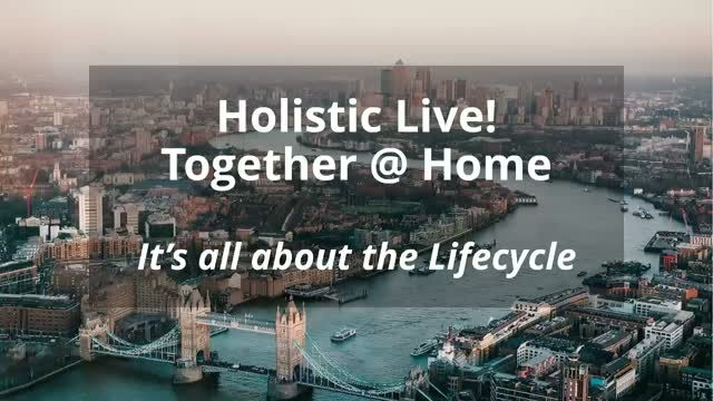 Holistic Live! Together @Home May 6th 2020