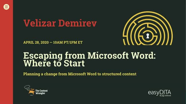 Escaping from Microsoft Word: Where to Start