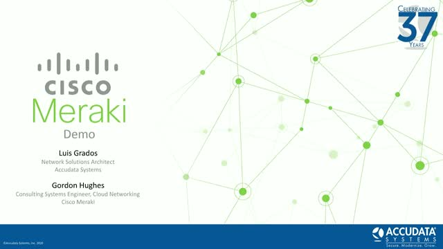 Secure your remote workforce with Cisco Meraki