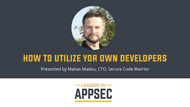 How to Utilize Your Own Developers: Asia Pacific