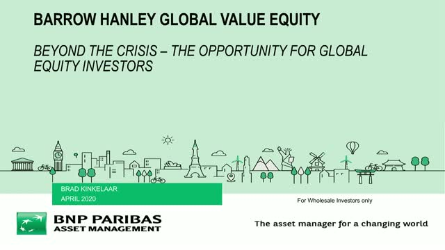Beyond the crisis – the opportunity for Global Equity investors