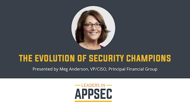 The Evolution of Security Champions