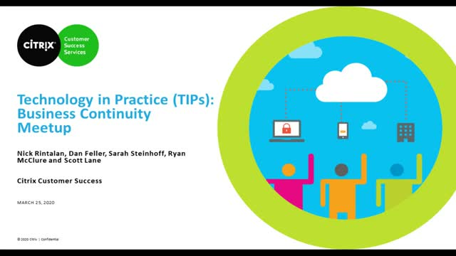 Technology in Practice Webinar Series -  Expert Q&A: Business Continuity