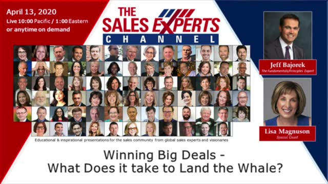 Winning Big Deals - What Does It Take To Land The Whale?