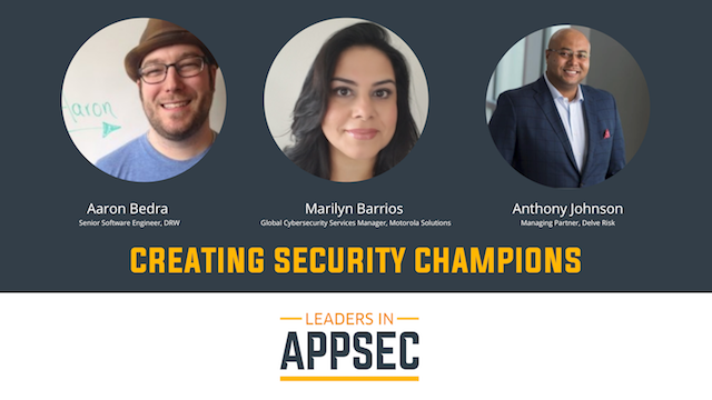 Panel Discussion: Security Champions