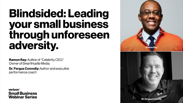 Blindsided:  Leading your small business through unforeseen adversity.