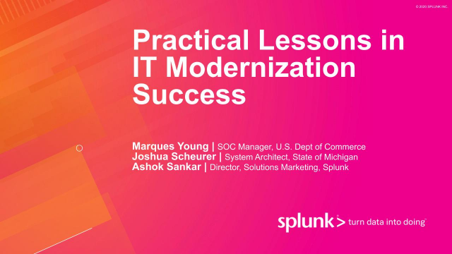 Practical Lessons in IT Modernization Success