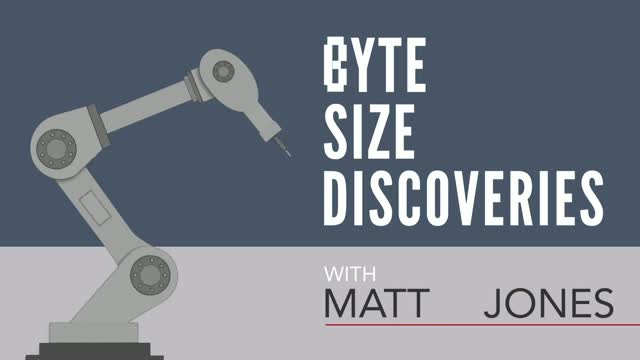 Byte Size Discoveries – Episode 1: Robot