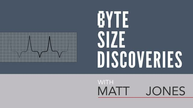 Byte Size Discoveries – Episode 3: Medical