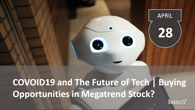 COVID19 and The Future of Tech | Buying Opportunities in Megatrend Stock