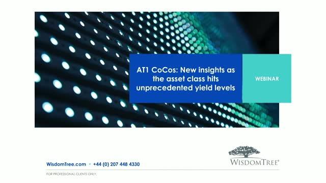 AT1 CoCos: New insights as the asset class hits unprecedented yield levels