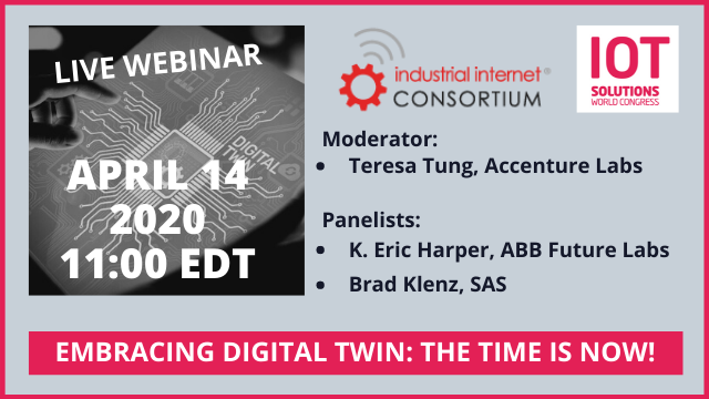 Embracing Digital Twin--Now is the Time!