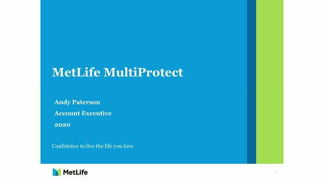MetLife MultiProtect update